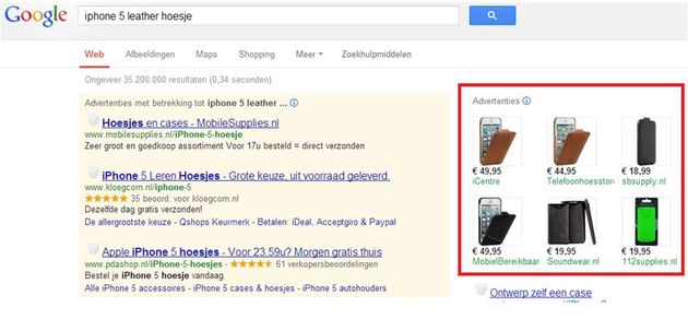Succesvol adverteren met product listing ads