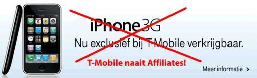 T-Mobile overhoop met haar affiliate partners