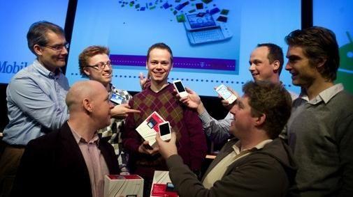 T-Mobile winnaars Google Android-wedstrijd