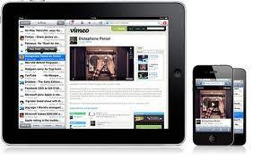 Tablet en smartphone hebben afzonderlijke piekuren