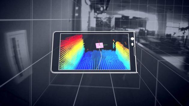Tablet maakt intrede in het Google Tango project