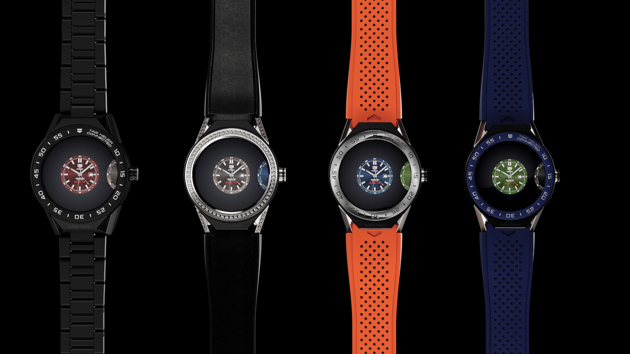 TAG Heuer Connected Modular Watchfaces