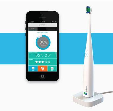 Tandenpoetsen met behulp van app!