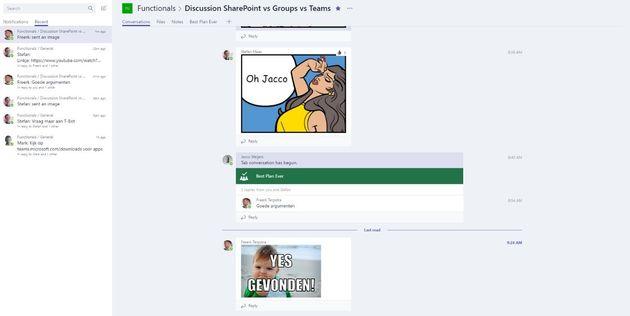 teams samenwerken