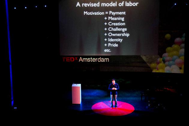 TEDx Amsterdam duikt in de menselijke natuur
