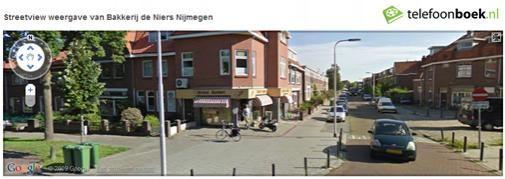 Telefoonboek.nl integreert Streetview in bedrijfsresultaten