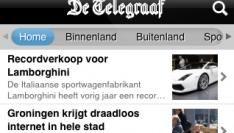 Telegraaf iPhone app