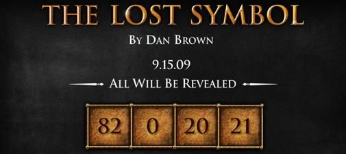 The Lost Symbol, Dan Brown goes Viral