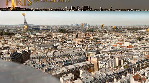 The making of.. Paris in 26 Gigapixels