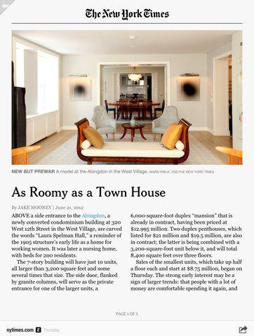 The New York Times maakt alle content beschikbaar via Flipboard