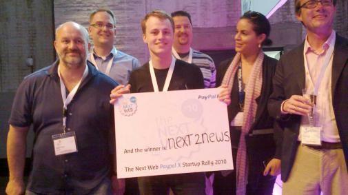 The Next Web PayPal X winnaars bekend