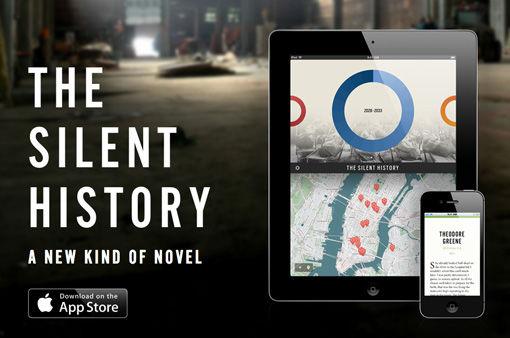 The Silent History vindt het boek opnieuw uit