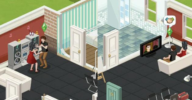 The Sims Social gaat FarmVille voorbij