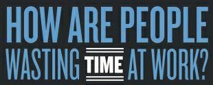 Tijdverspilling onder werktijd [Infographic]