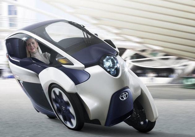 Toyota i-Road concept: de Carver One en Renault Twizy achterna