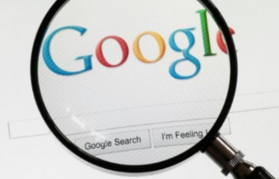 Trends in Google search