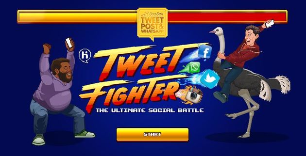 Tweet Fighter kickoff op Amsterdam CS