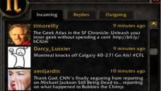 Tweets vanuit World of Warcraft
