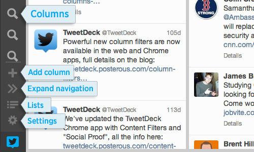 Twitter-client TweetDeck in een nieuw jasje