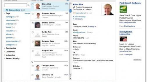 Twitter Lists ook naar LinkedIn