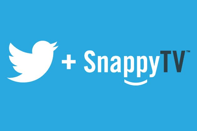 Twitter neemt SnappyTV over