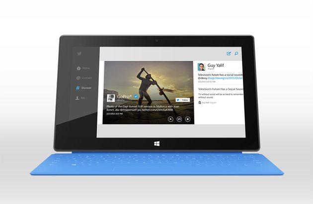 Twitter nu beschikbaar voor Windows 8