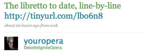 Twitter Opera