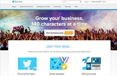 Twitter vernieuwt businessdeel op eigen website