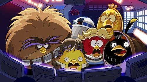 Van Angry Birds Star Wars wordt je console niet warm