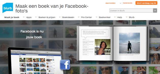 Van Facebook naar Blurb-fotoboek in 5 minuten