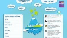 Vandaag is het Foursquare dag!