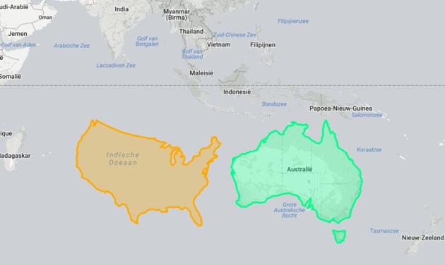 verenigde-staten-kaart-australië.