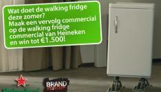 Videotalent maakt vervolg Walking Fridge