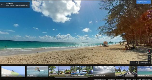 """Views"" toegevoegd aan Google Maps"
