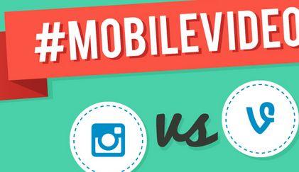 Vine vs. Instagram: statistieken, feitjes en features [Infographic]
