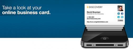 Visitekaartjes 2.0: E lanceert nieuwe (mobiele) website en iPhone app