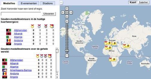 Volg de Olympische Spelen met Google
