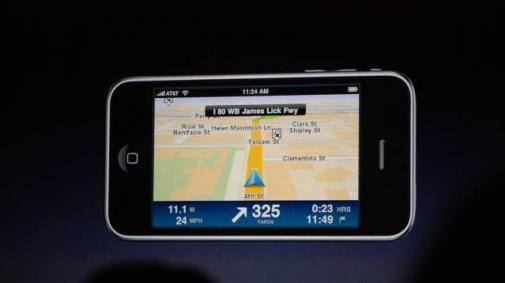 Volledige TOMTOM navigatie app voor iPhone