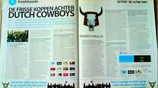 Web Designer over DutchCowboys