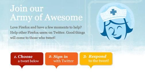 Webcare 2.0 : Join the Twitter Army of Awesome