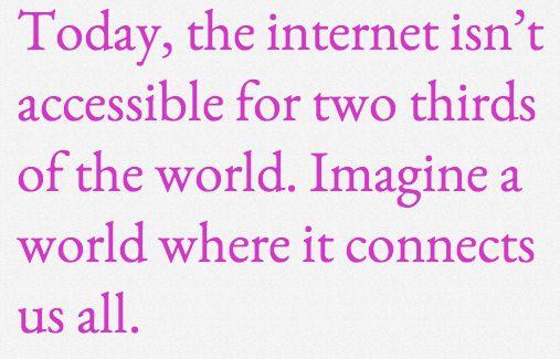 Whitepaper Internet.org: De focus moet op efficiëntie