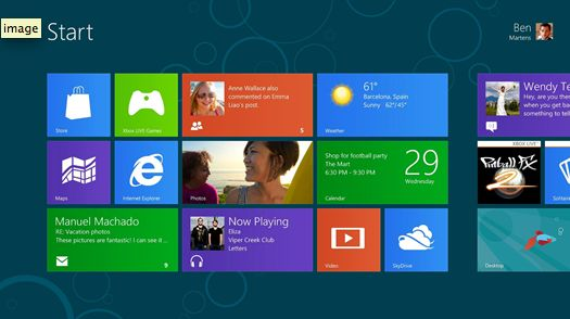 Windows 8, Windows 8 Pro en Windows RT