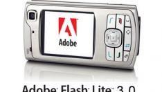 Windows Mobile ook met Adobe Flash Lite