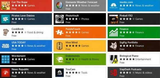 Windows Store heeft meer dan 50.000 apps