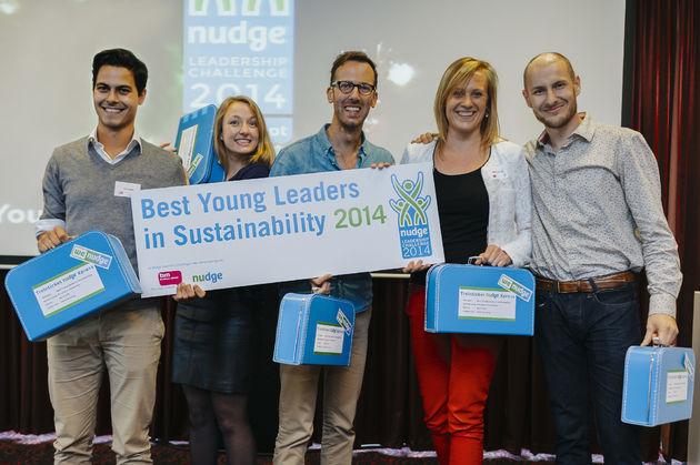Winnaars Nudge Leadership Challenge 2014