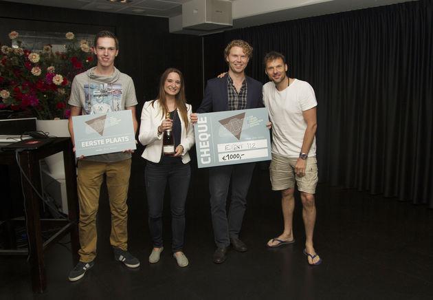 Winnaars Quincy, Marjolijn, Tim + Duncan Stutterheim