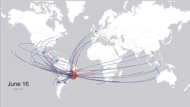 WK data: Waar komen de naar Brazilië afgereisde fans vandaan?