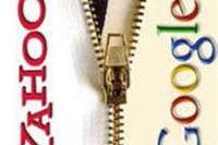 Yahoo start test met advertenties Google