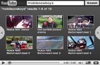 Zoekbox YouTube mooie aanvulling