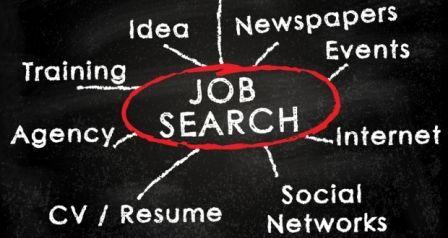 Zoektrends werkzoekenden sinds crisis